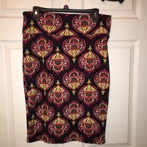 LuLaRoe Cassie Skirt- New - Large
